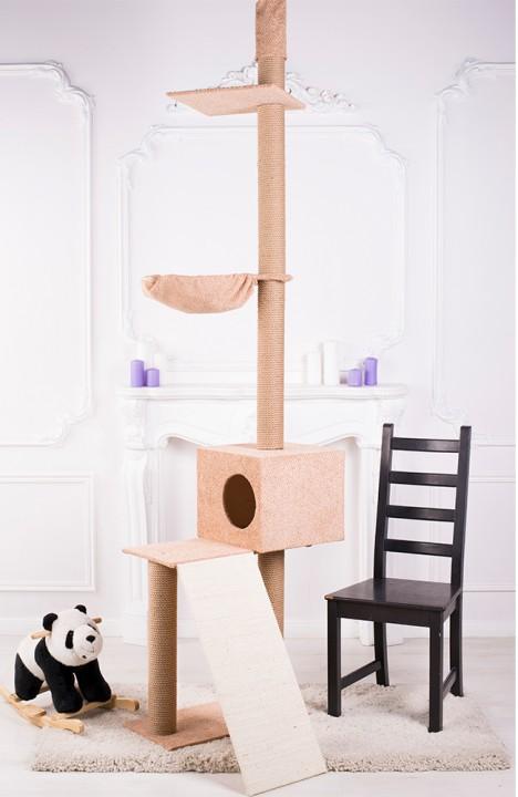 Комплекс для кошки Балкон-2С с горкой
