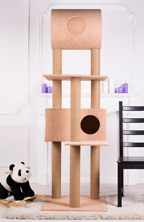 Домик для кошки Мейн-кун-4С