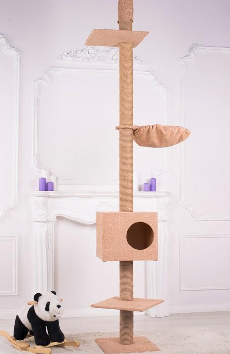 Дом-когтеточкадля кошек Пальма-3С