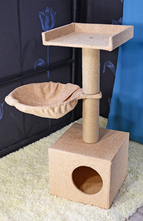 Домик для кошки Теремок-2С
