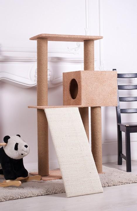 Домик для кошки Гранд-8С с горкой