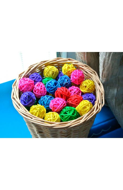 Шарик плетенный